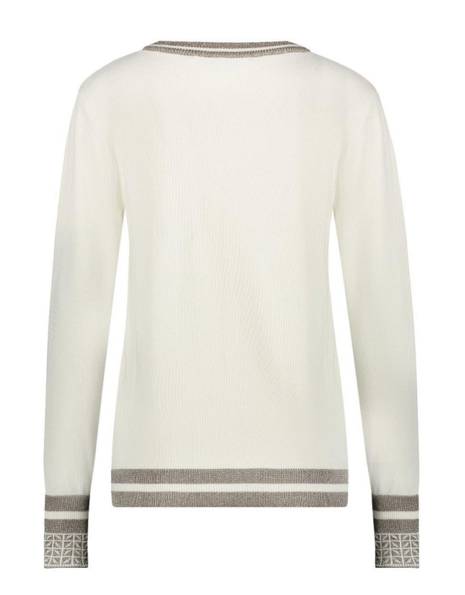 NUKUS NUKUS Tanja sweater Off White
