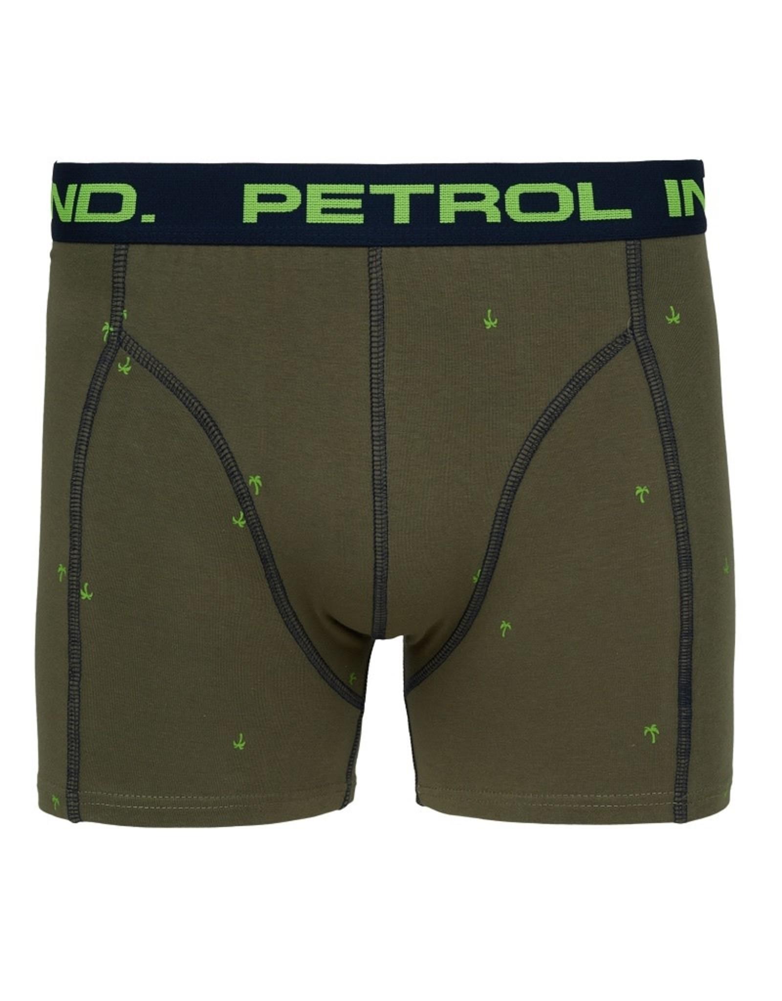 Petrol Ind. Petrol Boxershort 1-PACK Groen BXR002
