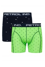 Petrol Ind. Petrol Boxershort 2-PACK Blauw BXR203