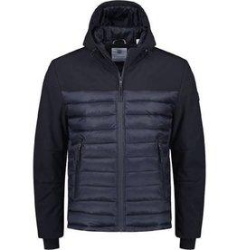 Dstrezzed Dstrezzed Hooded ski jacket softshell Dk.navy