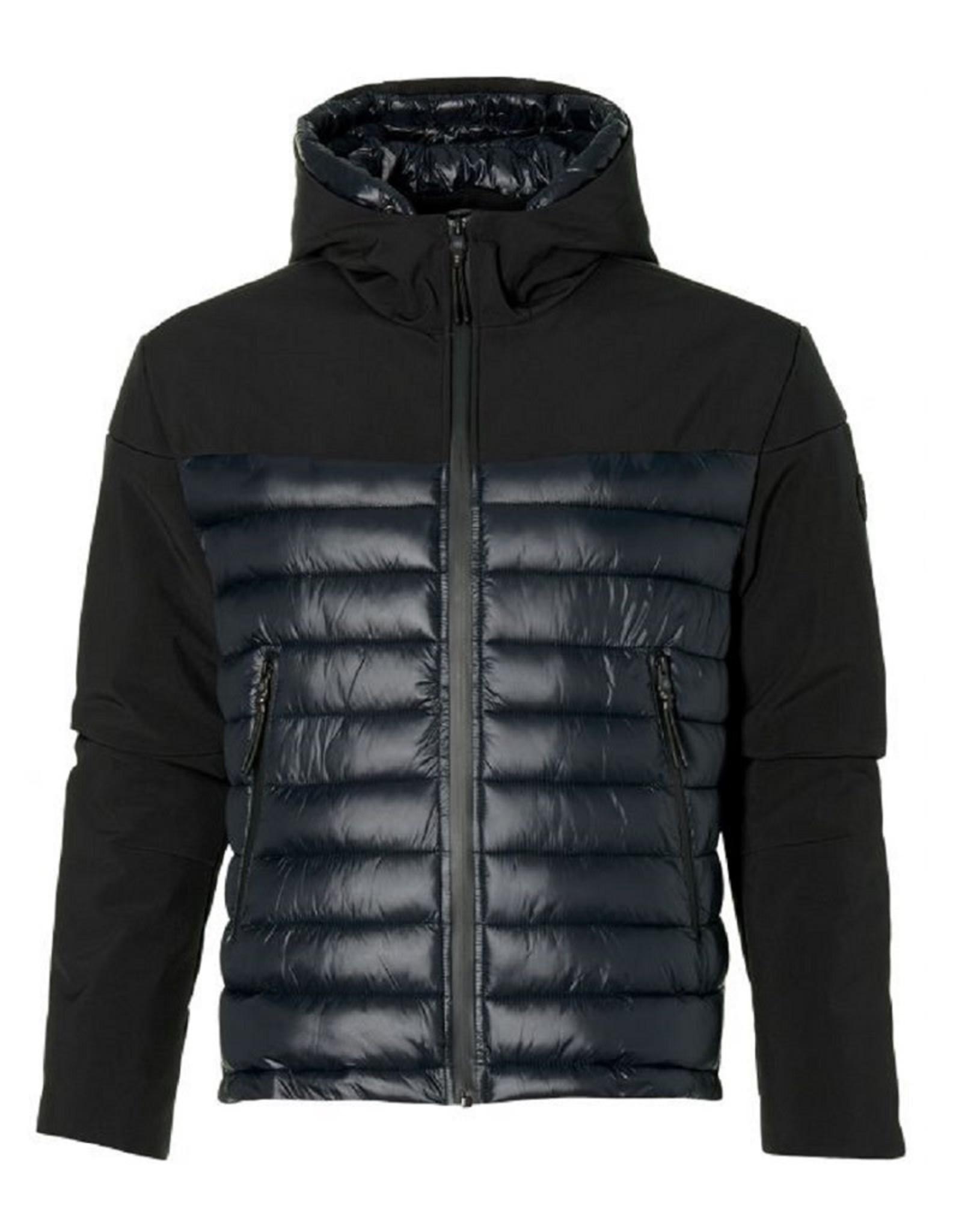Dstrezzed Dstrezzed Hooded ski jacket softshell Black