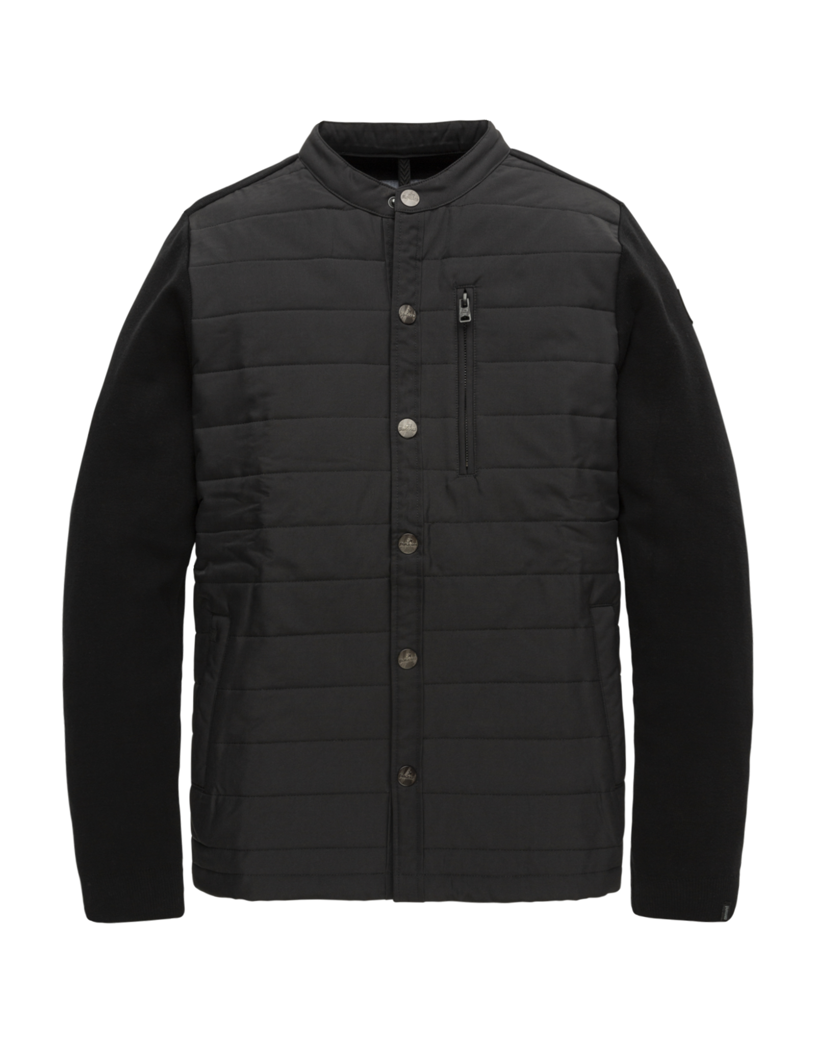 Vanguard Vanguard Zip jacket cotton material mix black onyx