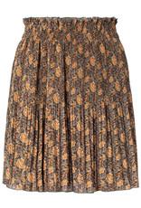 Yaya YAYA  Pleated mini skirt with print