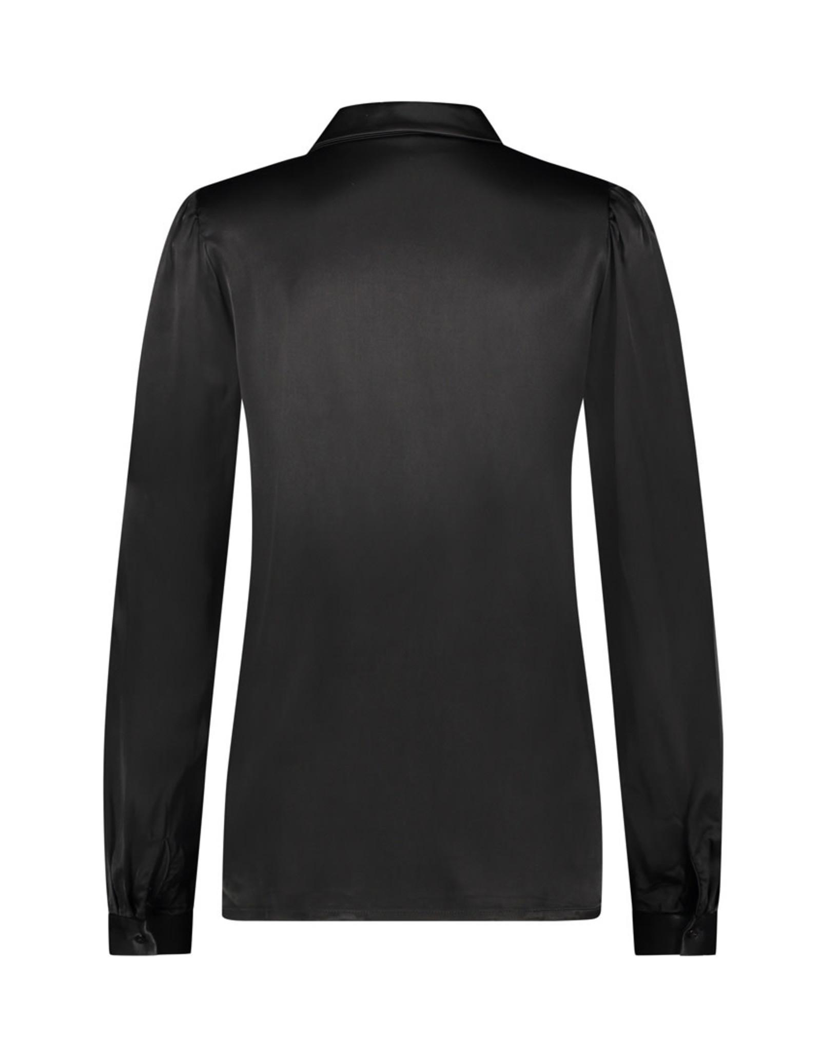 NUKUS NUKUS Diamant blouse Black