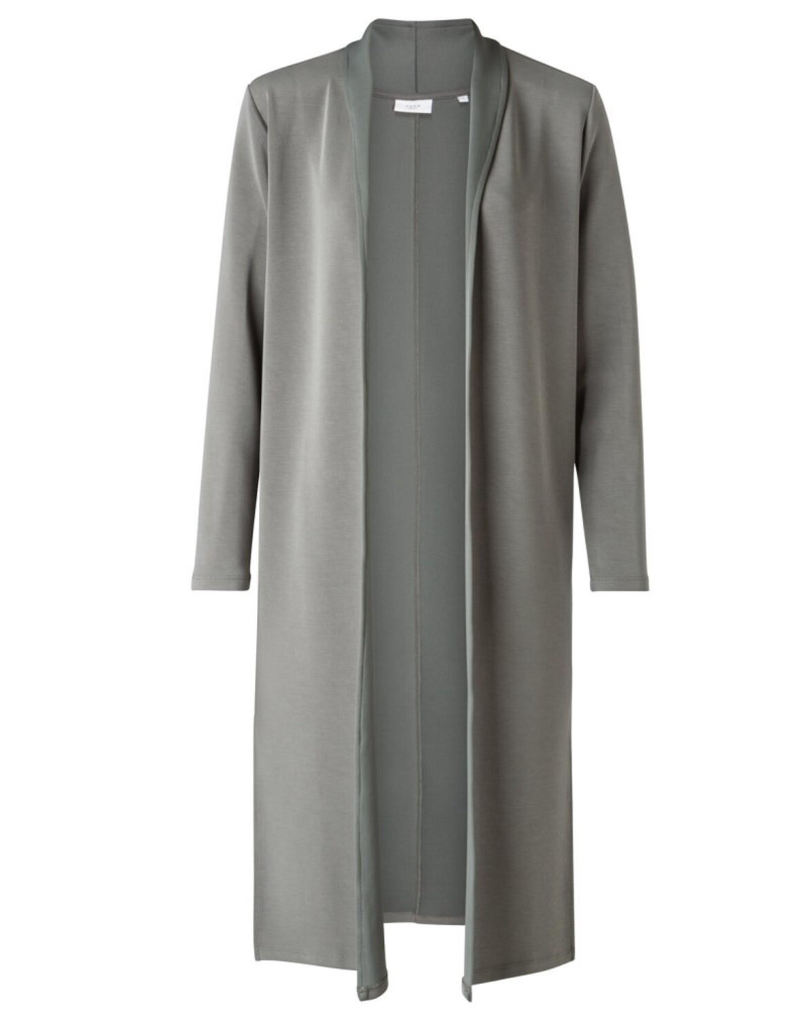 Yaya YAYA vest Blueish grey