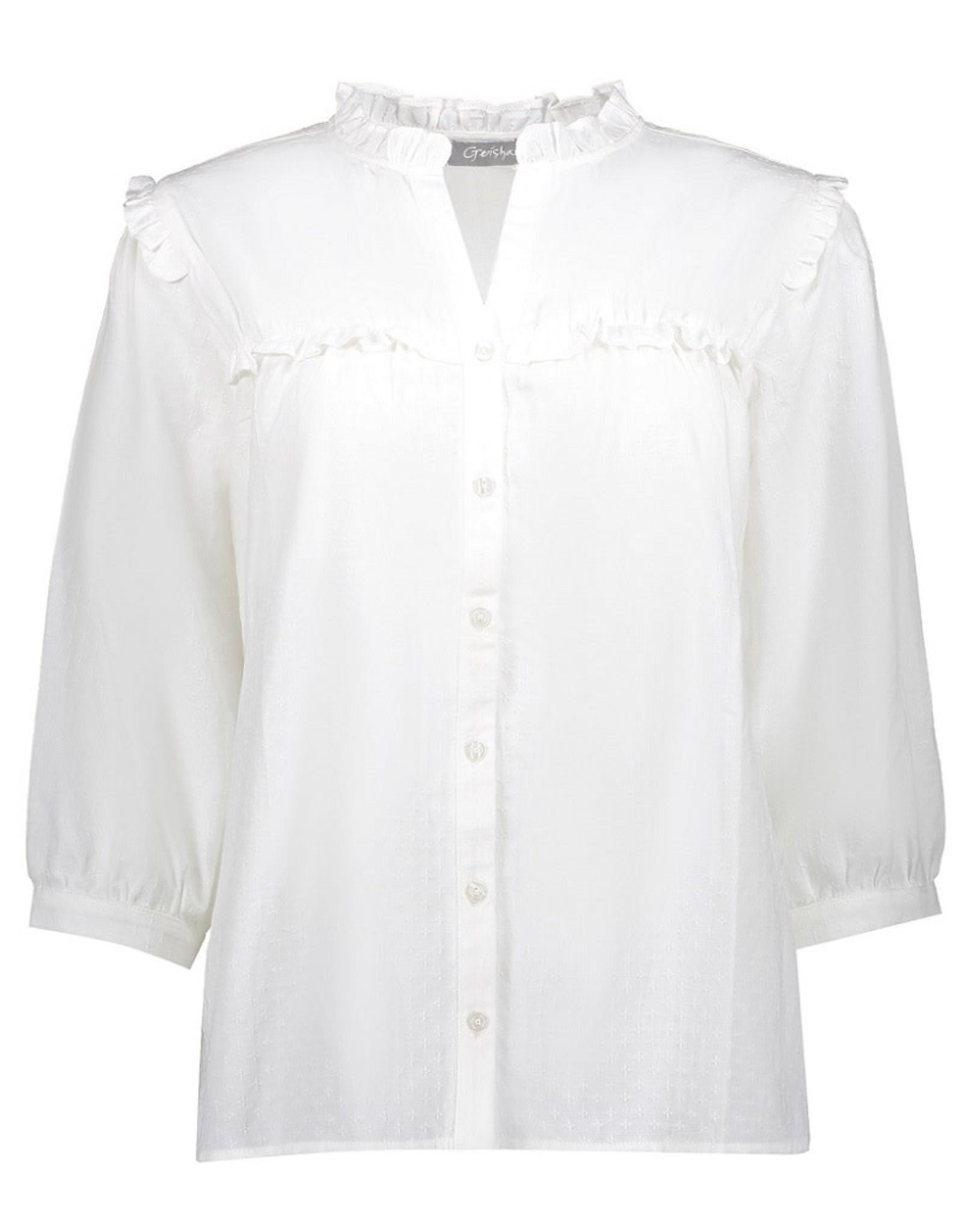Geisha Geisha blouse off white