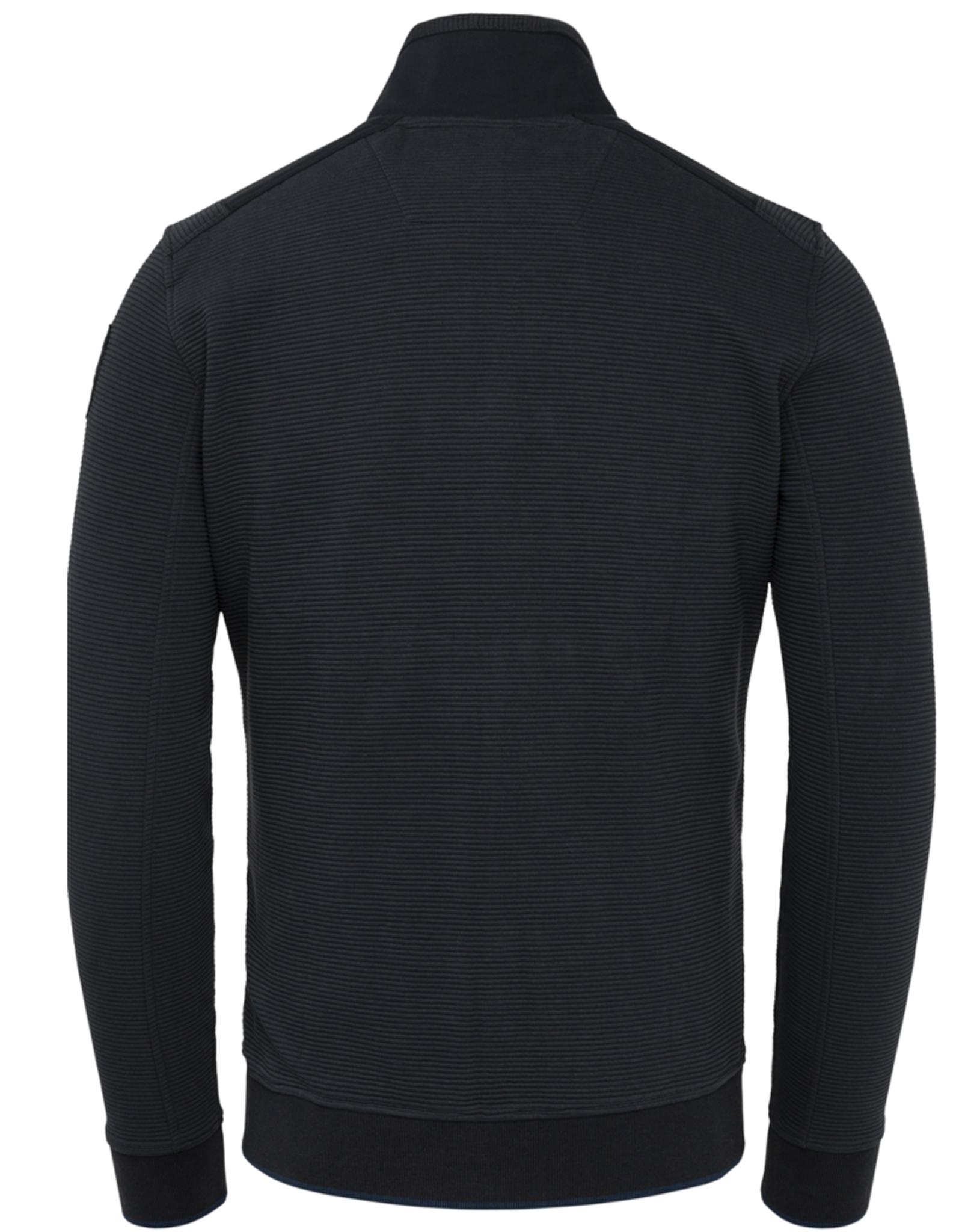 Pme Legend PME Legend vest Zipper Ottoman sweat blauw