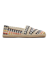 TOMS TOMS  Espadrille natural multi global woven