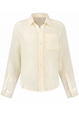 Circle of Trust Circle of Trust CHrystal blouse off white