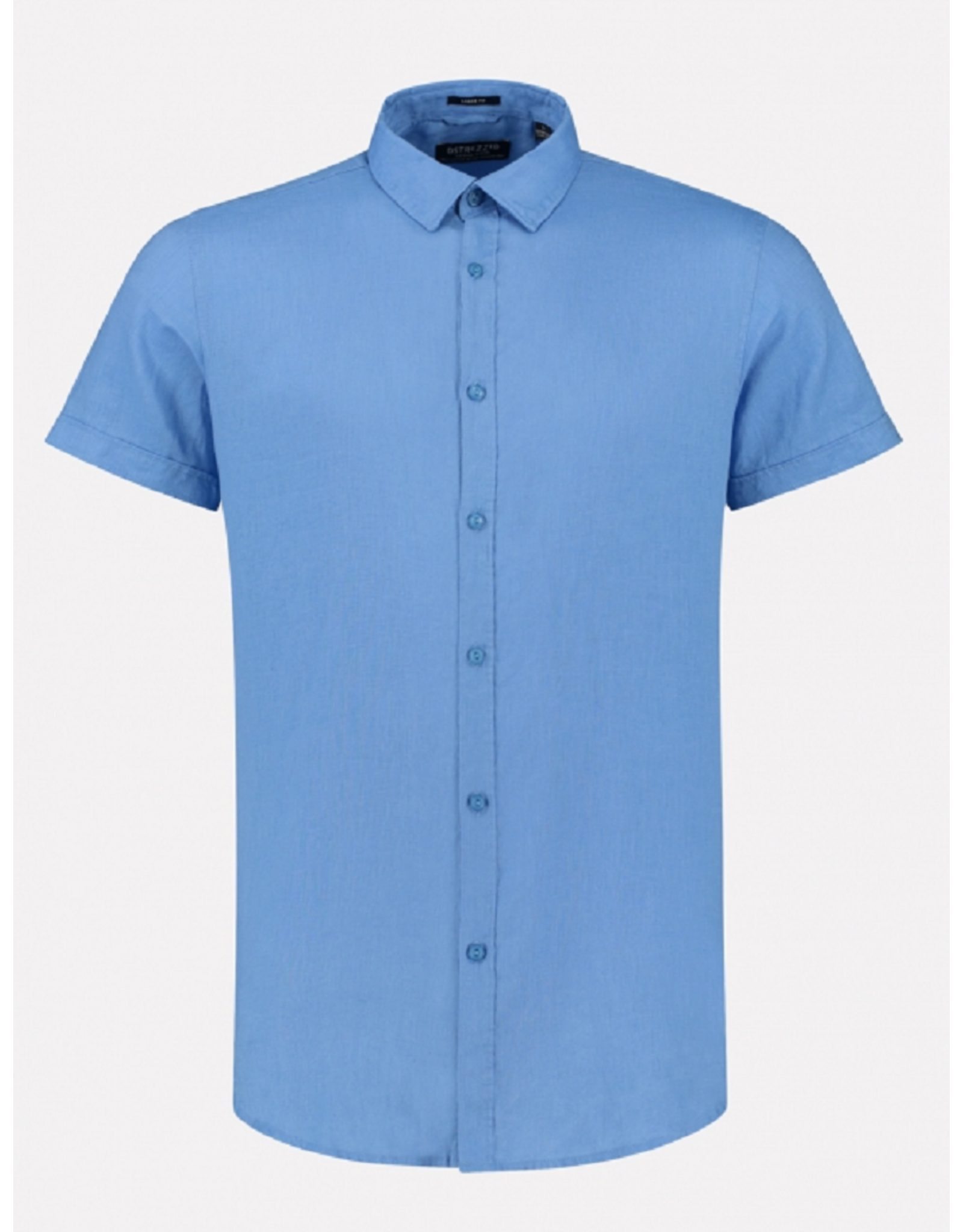 Dstrezzed Dstrezzed Shirt regular collar Linen Sky