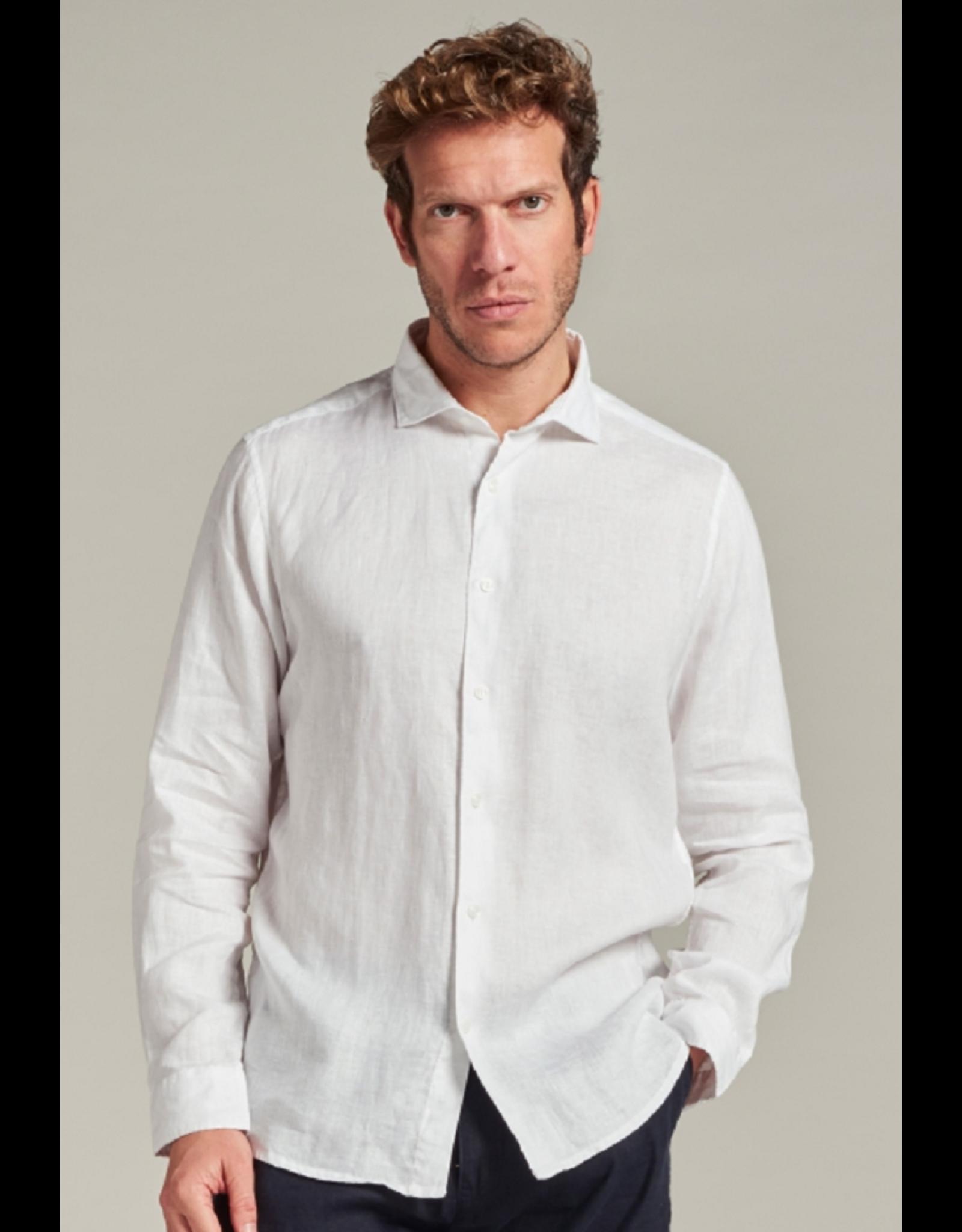 Dstrezzed Dstrezzed Jagger Shirt Linen White