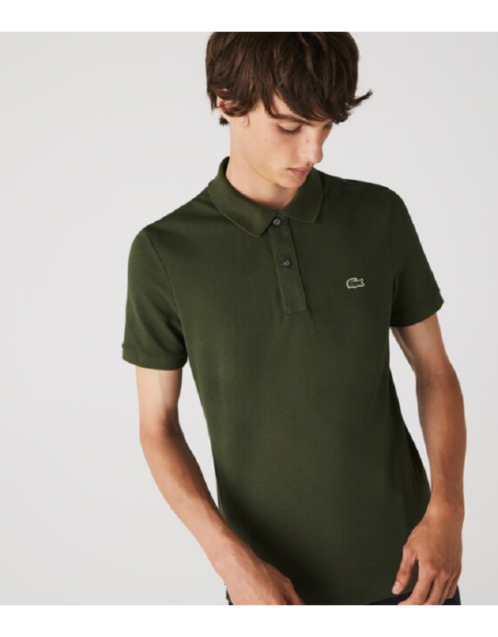Lacoste Lacoste slim fit polo Baobab S7T