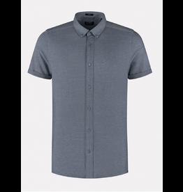 Dstrezzed Dstrezzed Shirt BD Melange Pique Navy