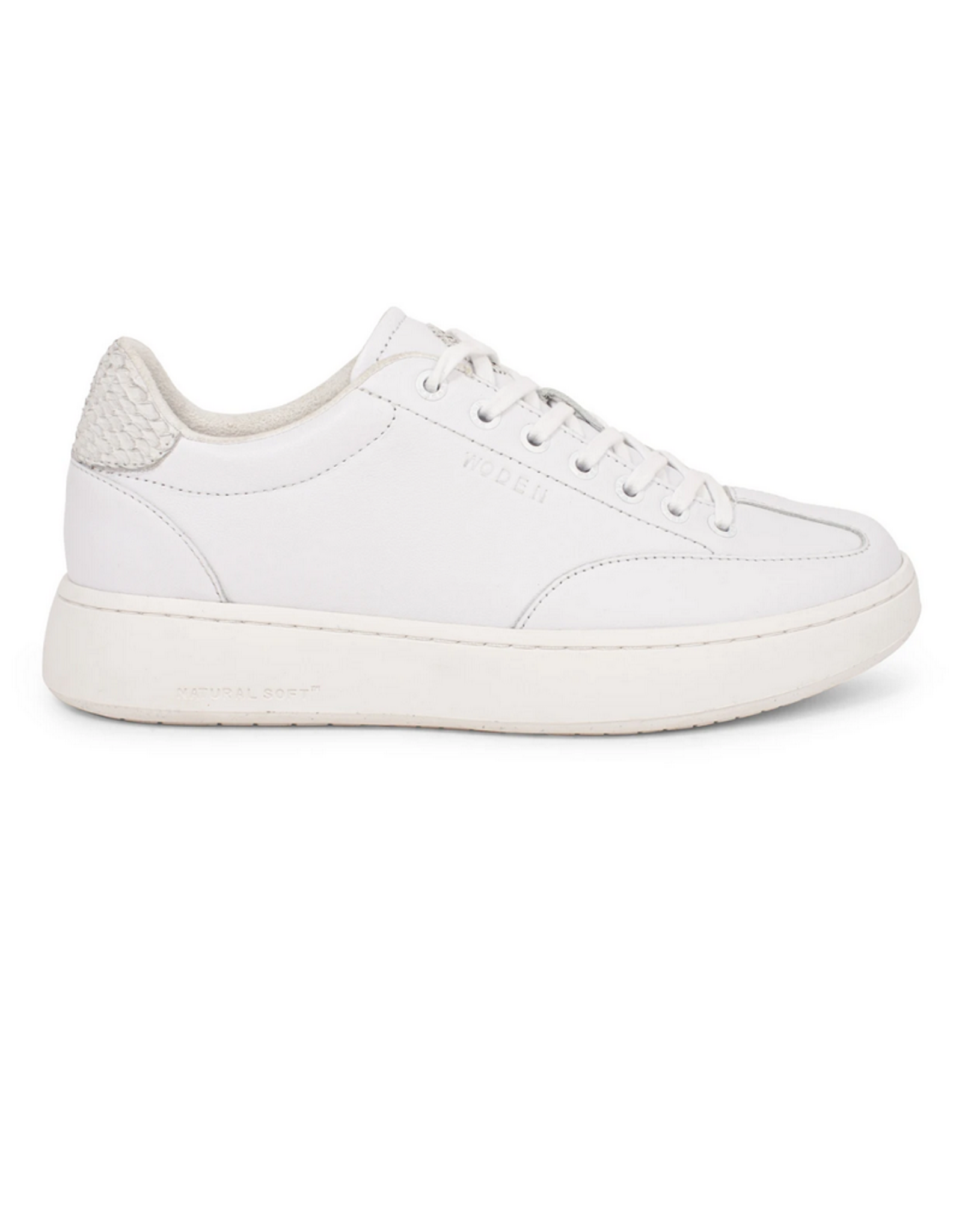 Woden Woden Pernille Leather Bright white