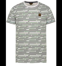 PME Legend PME Legend Short sleeve r-neck single Jersey aop garment dyed