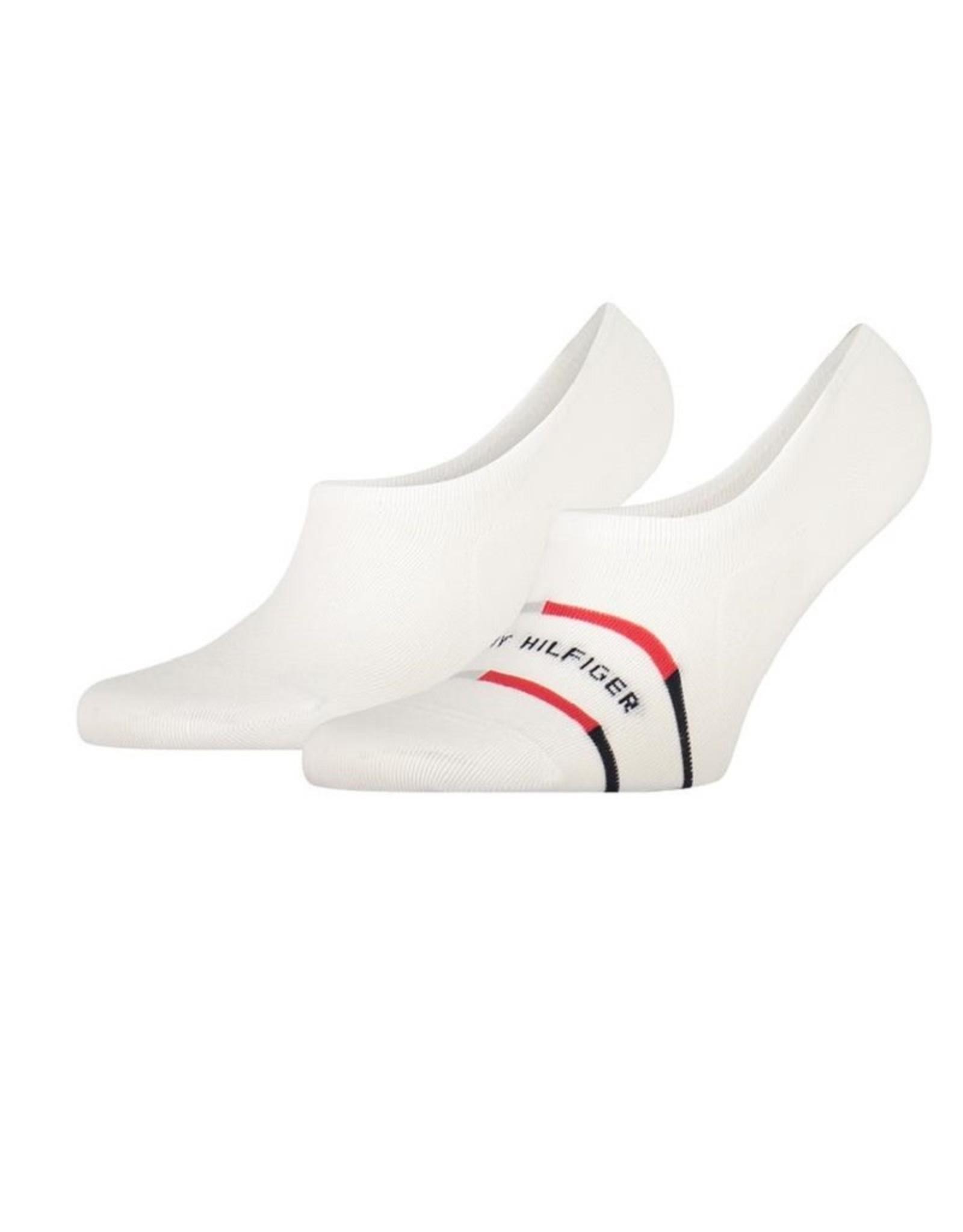 Tommy Hilfiger Footie 2P Breton Stripe white