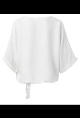 YAYA YAYA top kimono mouw en knoop wit