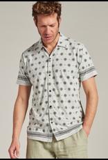 Dstrezzed Dstrezzed overhemd stretch graphic print grijs