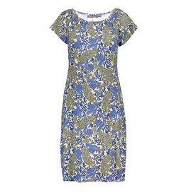 Geisha Geisha jurk May paisley bleu