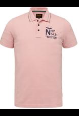 PME Legend PME Legend polo roze nugged pique