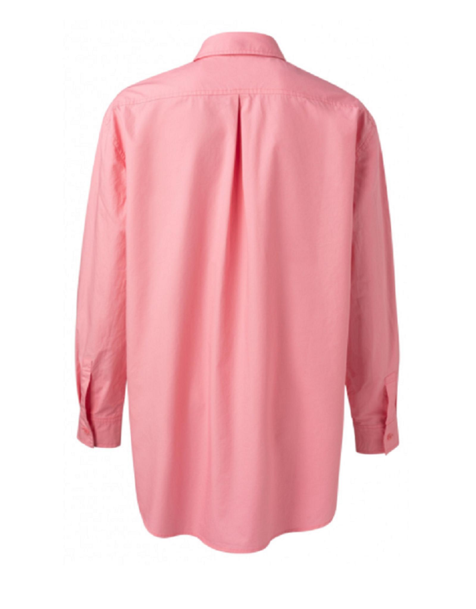 YAYA YAYA blouse Boxy poplin