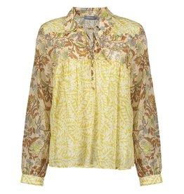 Geisha Geisha blouse zand camel combi