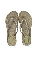 Ilse Jacobsen Ilse Jacobsen  slippers met glitters Goud