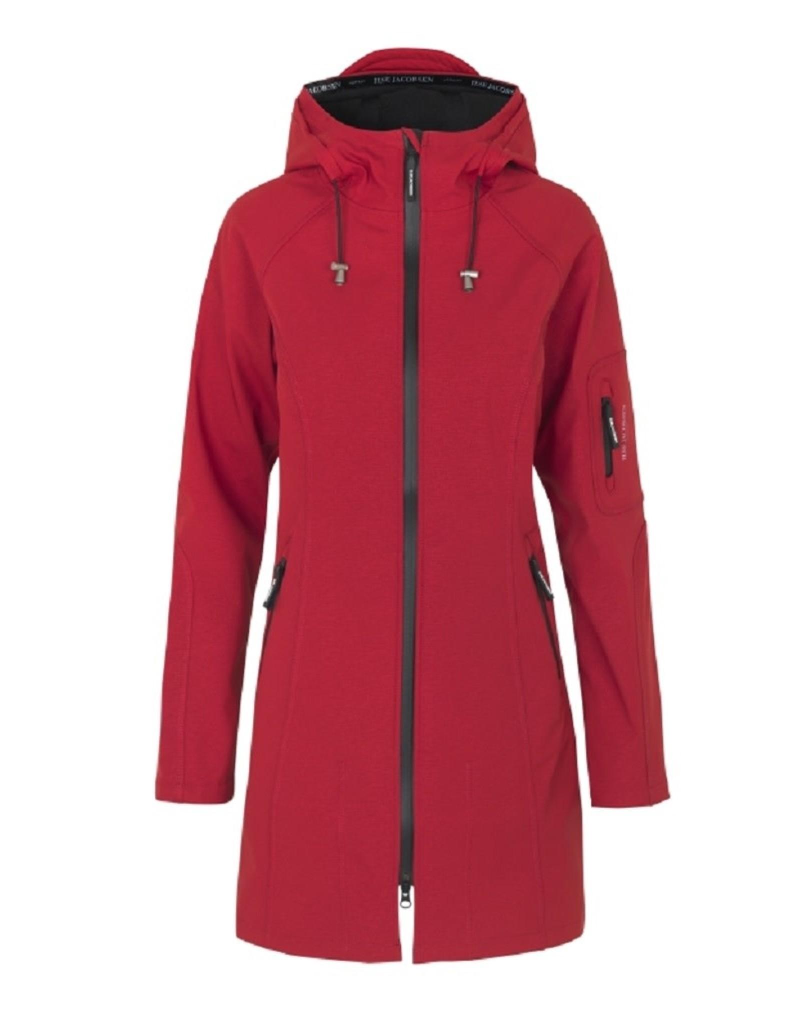 Ilse Jacobsen Ilse Jacobsen Raincoat 3/4 Rhubarb rood