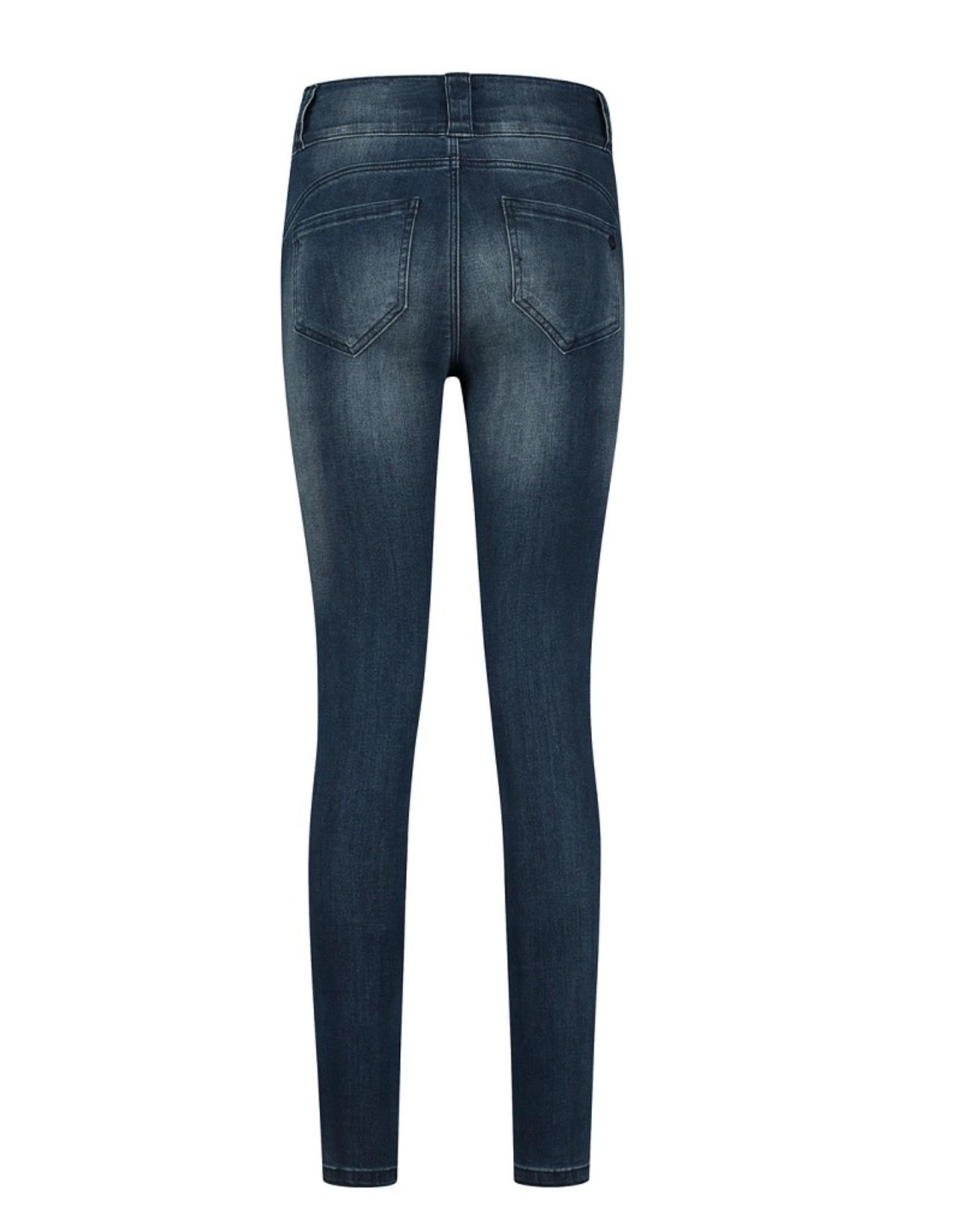 Florèz Florez jeans Bodine Zipper blue gold