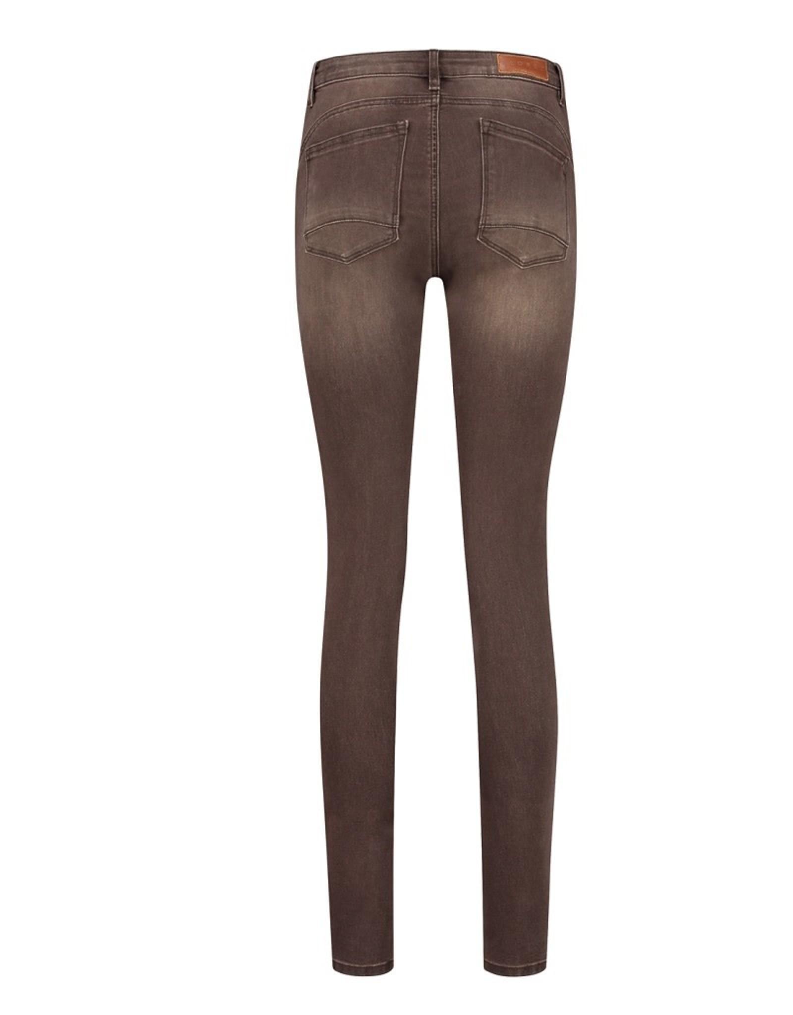 Florèz Florez Charmeur jeans Zipper brown