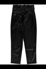 Geisha Geisha coating pantalon leather look zwart 11502