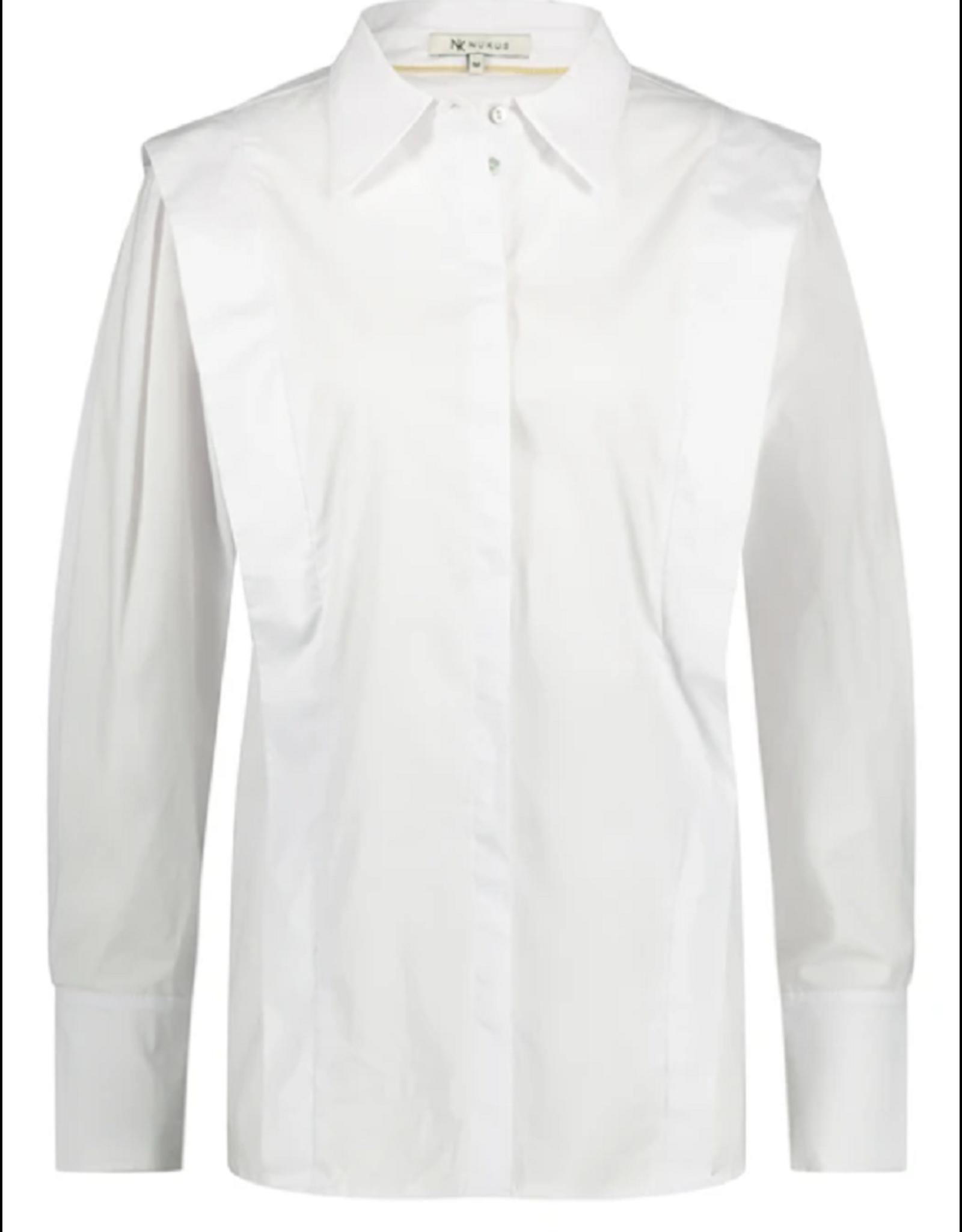 NUKUS NUKUS blouse Parma Wit