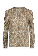 NUKUS NUKUS Como blouse Paisley Camel