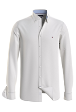 Tommy Hilfiger Tommy Hilfiger slim fit shirt chalky wit