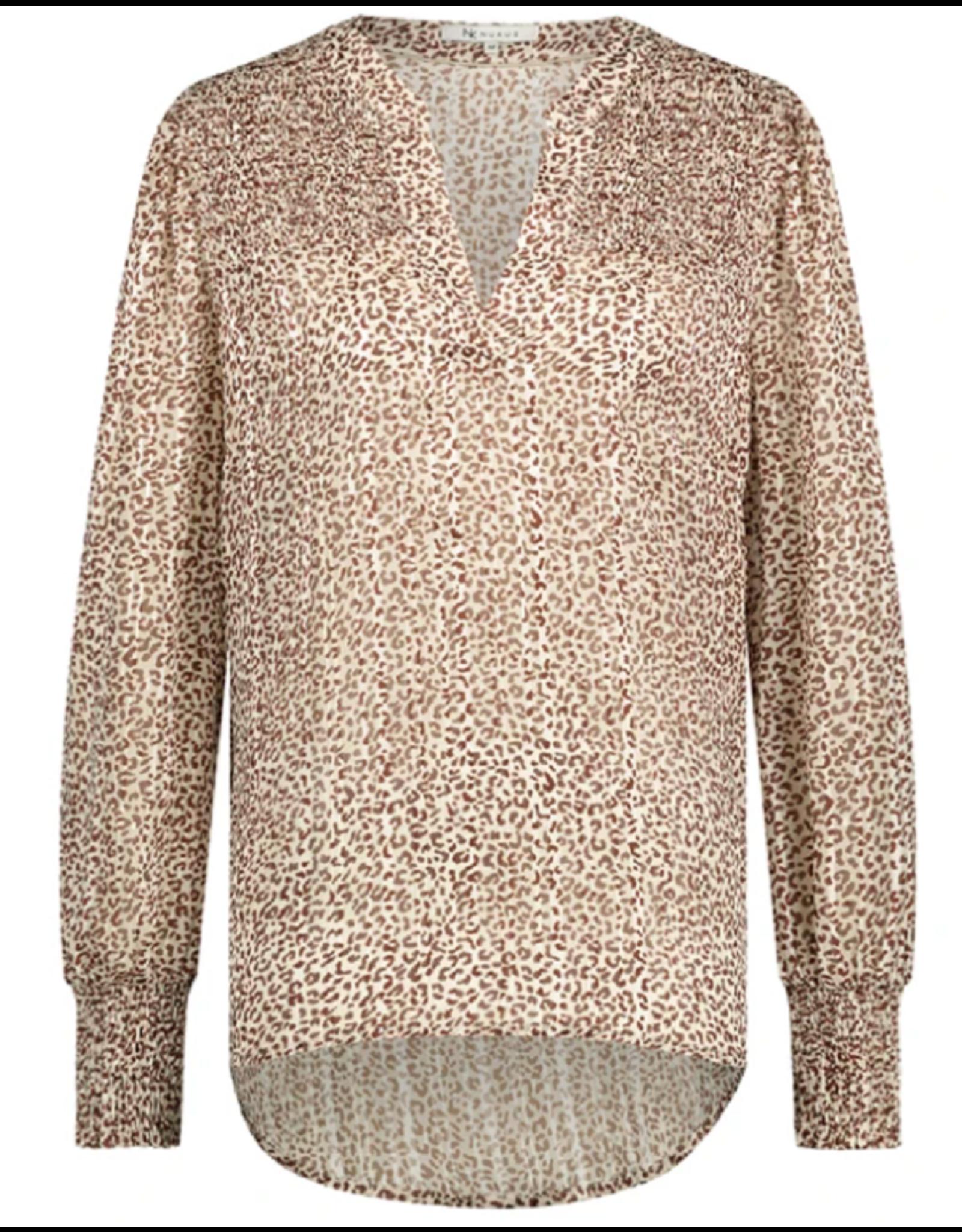 NUKUS NUKUS blouse Rome brown