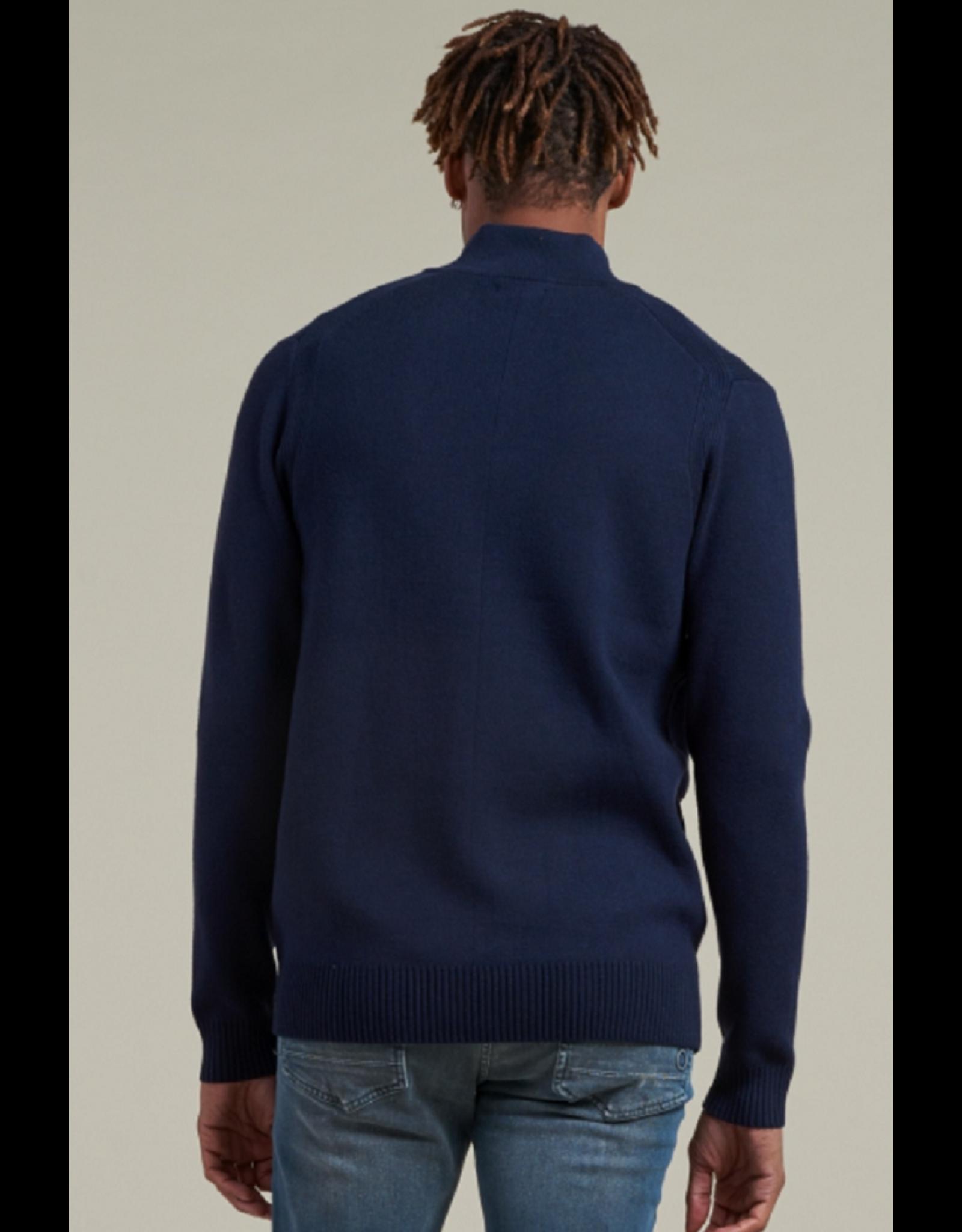 Dstrezzed Dstrezzed Skipper Techno knit Blauw