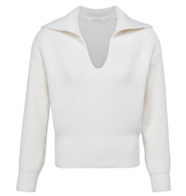 YAYA YAYA trui greyish Wool White 1000481