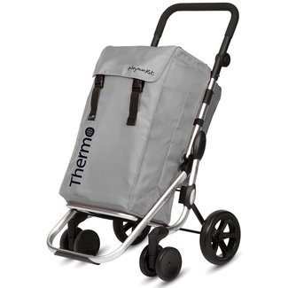 Playmarket Go Plus trolley - silver