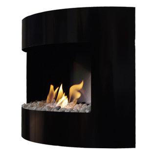Dfire Bio-ethanol sfeerhaard Bonn zwart met regelbare brander