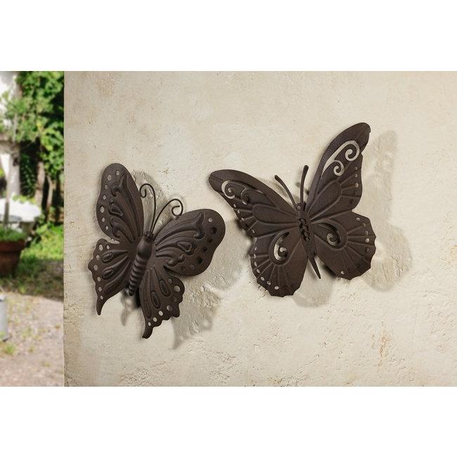 Avantius Vlinder wandhanger 2 stuks