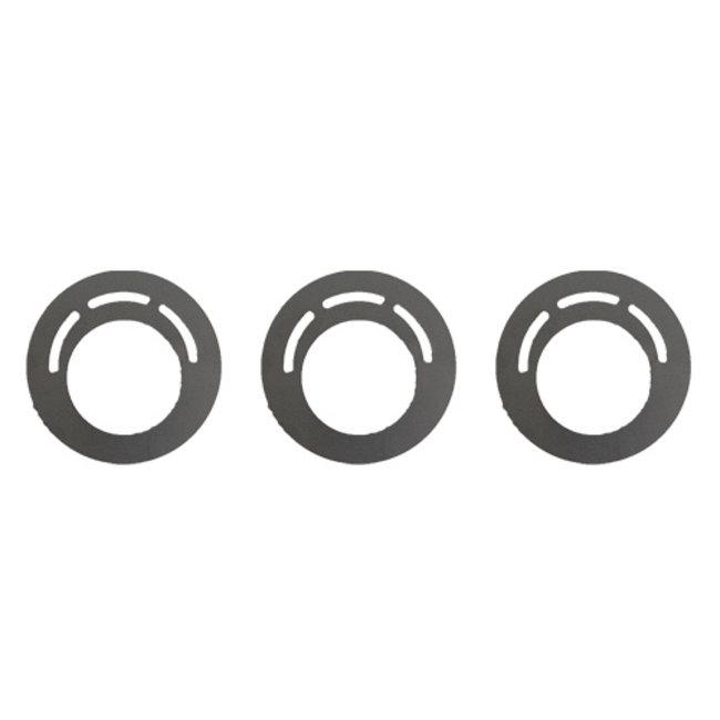 3 stuks Spaarplaten 85 mm geschikt voor ca 0,5 liter pot