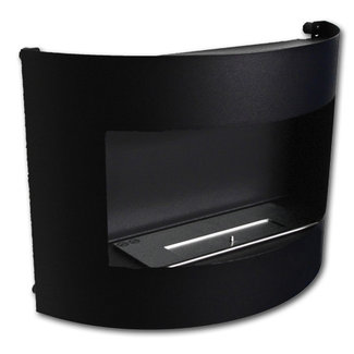 Dfire Bio-ethanol sfeerhaard Bonn mat zwart met regelbare brander