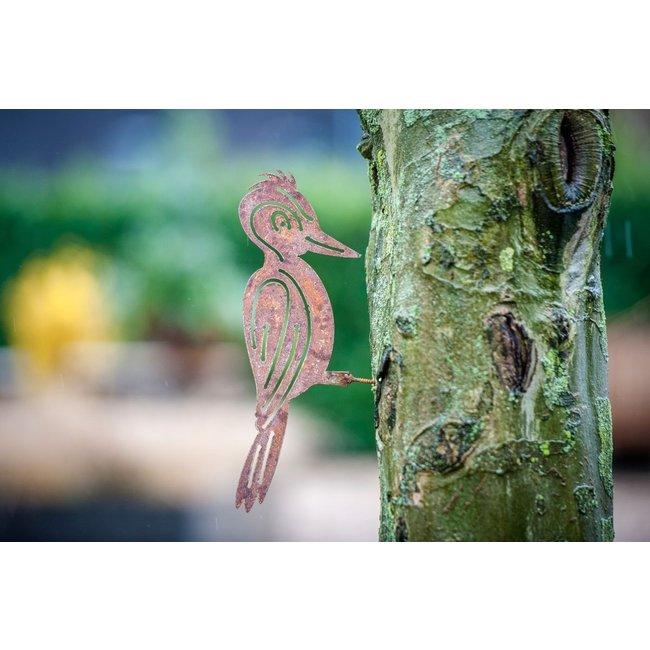 Decoratie Specht voor in de boom