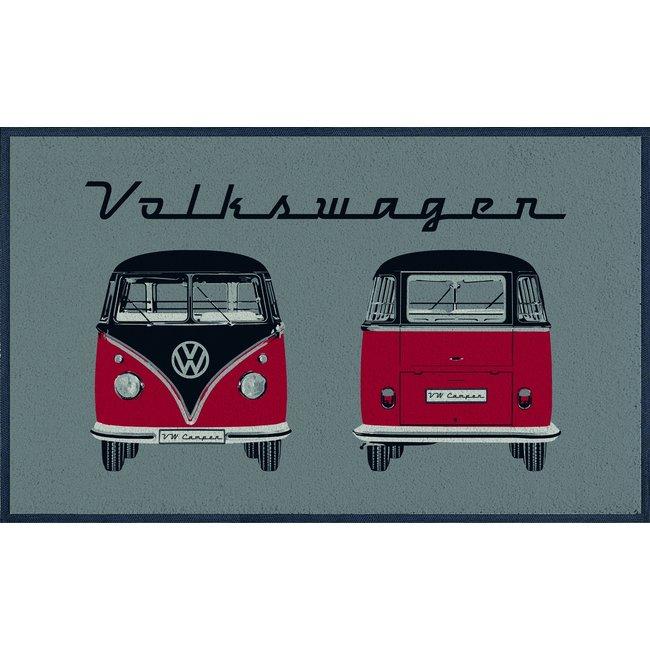 Brisa Deurmat Volkswagen busje rood