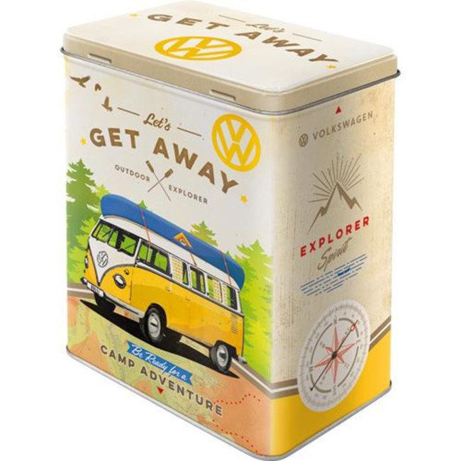 Bewaarblik Volkswagen T1 bus - let's get away
