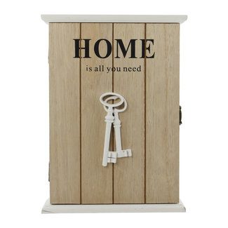 Home & Deco Sleutelkastje Home is all you need
