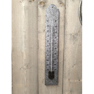 Home & Deco Thermometer zink 60 cm