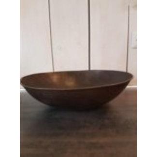 Varios Vuurschaal ijzer -Iron cooking bowl