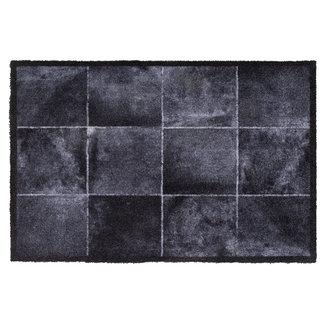 Hamat Deurmat Tegeltjes Zwart 40x60