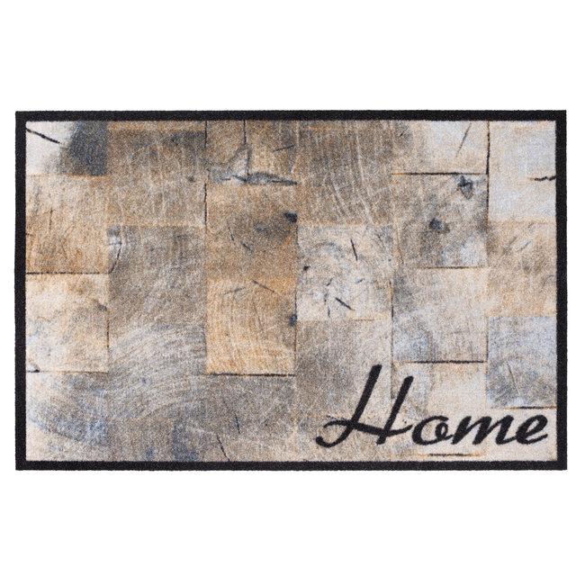 Hamat Deurmat Houtblokken Home 40x60